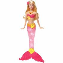 Barbie Sereia Com Luzes Mattel