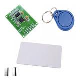 Kit Leitor Rfid Rc522 Cartão Tag Mifare 13.56mhz Arduino