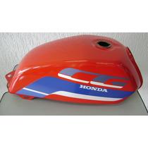 Tanque Combustivel Honda Today 91 Vermelho Original Novo