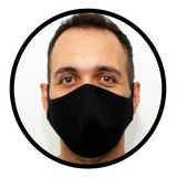 Máscara De Pano Reutilizável Dupla Camada - 1 Pçs