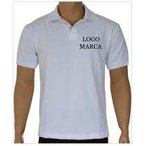 3 Camisa Gola Polo Branca - 1m Masculina - 2 Feminina 1m 1g