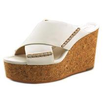 Calvin Klein Jeans Adeli Leather Platform Sandal