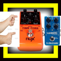 Pedal Time Core Nux (7 Delays + Loop = Flashback Tc Eletroni