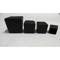Ponteira Quadrada Pvc 25mm (2,5cm) 10 Peças - Mesa Cadeira