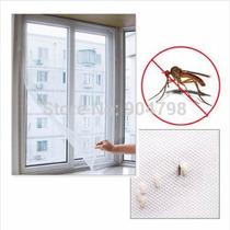 2 Telas P/ Mosquitos Mosquiteiro Janelas Velcro Cor Branca
