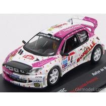 Miniatura Peugeot 206 Wrc 2003 Rallye De Madeira - 1:43 Ixo