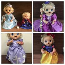 Roupas De Boneca ! Baby Alive, Princesas, Vestidos Fantasias