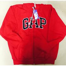 Blusa Frio Moleton Gap Feminino Vermelho Confira