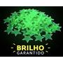 100 Estrelas Fluorescentes Neon Teto Parede Brilha No Escuro