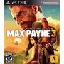 Max Payne 3  , Playstation 3  Codigo Psn  Promoção....