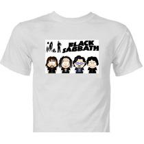 Camiseta Black Sabbath South Park Camisa Metallica Acdc Ozzy