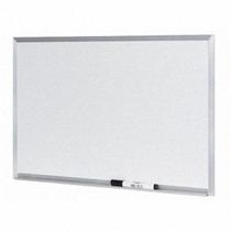 Lousa Quadro Branco Moldura De Aluminio 60 X 80 Cm + Brindes