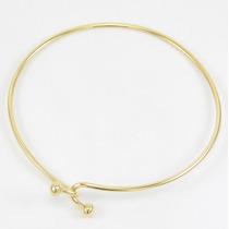 Esfinge Jóias - Bracelete Fio Maciço Em Ouro Amarelo 18k 750