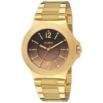Relógio Euro Eu2035lqs/4x (aço Inox, Dourado, Analógico)
