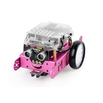 Kit Robô Educacional Mbot Bluetooth Rosa Makeblock
