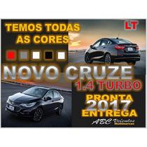 Novo Cruze Sedan Lt 1.4 Turbo - 2017 Zero Km Pronta Entrega