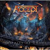 Accept:the Rise Of Chaos(lançamento Em Digipack)