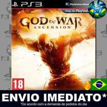 God Of War Ascension Ps3 Cód Psn Dublado Português Promoção