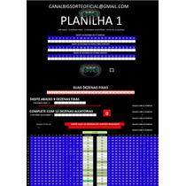 Pacote De Planilhas B.sorte Lotofácil - 90% Acertos/sorteio