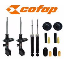 Kit 04 Amortecedores C4 / 307 + Kit + Coxim - Novo