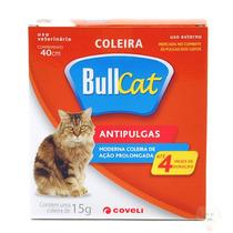Coleira Antipulgas Bullcat Para Gatos 15g - Coveli