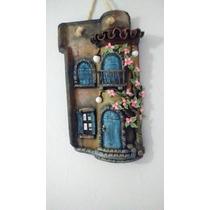 Telha Decorativa Estilo Frente De Casa Antiga E Envelhecida