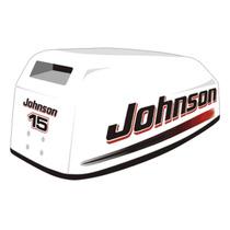 Adesivo Motor Popa Johnson 15 Hp