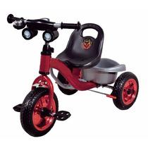 Triciclo Infantil Tubular De Aço Rodas Cromadas Freio Buzina