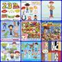 9 Kits Scrapbook Digital -toy Story
