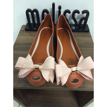 Sapatilha Melissa Ultragirl Sweet Maxi Laço X31890