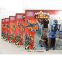 C805 - Mega Bloks Power Rangers - 5 Kits - Mais De 530 Peças