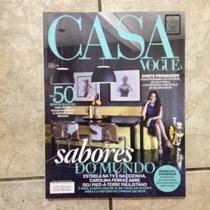 Revista Casa Vogue 348 8.2014 Top 50 Restaurantes Com Décor