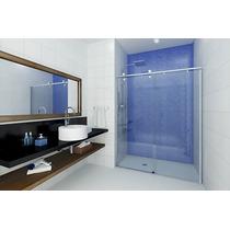 Box Elegance Original Idéia Glass Incolor De 8mm Até 1,20m