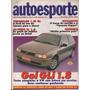Auto Esporte Nº352 Gol Gli 1.8 Saveiro Cl 1.6 Versailles Gl