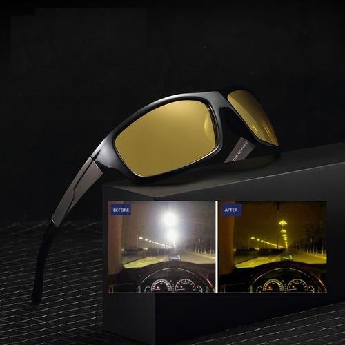 Oculos De Sol Polarizado Visão Noturna Dirigir A Noite Luxo. R  119 9b5556a700