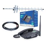 Celular Telefone De Mesa 3g Aquario Ca-403g + Antena Rural