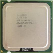 Otimo Processador Intel Pentium 4 3.2 Ghz/1m/800 Lga775