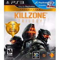 Jogo Ps3 - Killzone Trilogy - Usado- Usado