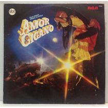 Lp Novela Amor Cigano - 1983 - Sbt - Rca Victor