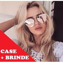 84075e72a6ee5 Busca oculos espelhado rosa com os melhores preços do Brasil ...