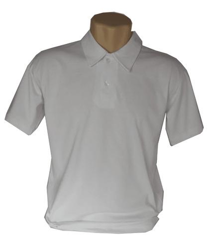 Camisa Polo Lisa Malha Algodão - Kit Com 9 Camisas Em Cores e32af22bb35e2