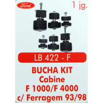 Bucha Kit Coxim Cabine F1000 F4000 Com Ferragem 93 Até 98