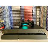 Console Playstation 4 Ps4 C/ 2 Jogos + Frete Grátis Free