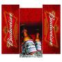 Bebida Budweiser: Adesivo Geladeira Envelopamento Completo