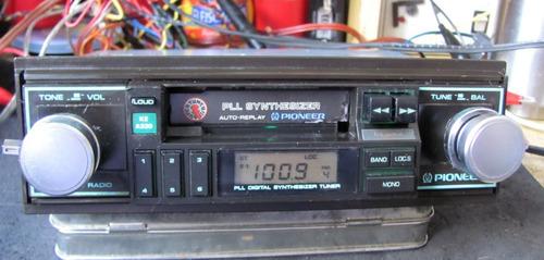 fd6558a74b4 Radio Toca Fitas Pioneer Ke A330 Original Carro Antigo Gm Vw