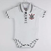 Body Corinthians Gola Polo Camisa 9 - Oficial Marca Revedor