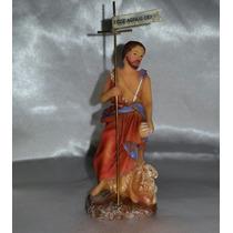 Imagens Santos Católicos São João Batista 08 Cm-resina