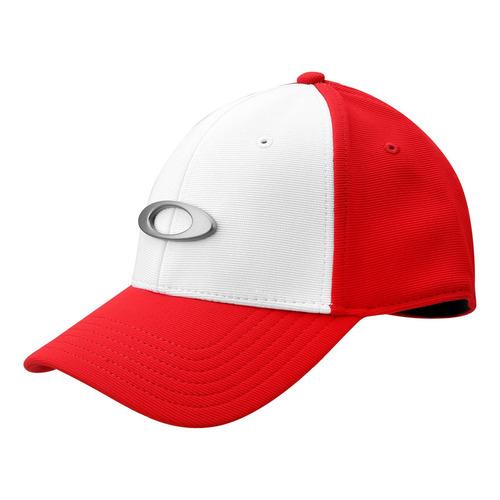 Bone Oakley Tincan Cap Vermelho Branco 100% Original. R  149 c9e6fda3b09