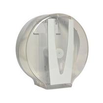 Dispenser Plást. Vision Cristal Papel Higiênico Rolão 500