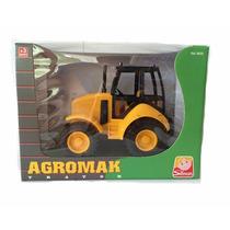 Trator Agromak - Amarelo - Silmar Brinquedos
